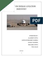 Indian Avaition Industry Analysis