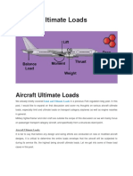 Aircraft Ultimate Loads