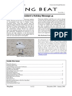 February-March 2009 WingBat Newsletter Clearwater Audubon Society