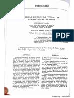 ATALIBA, Geraldo; DALLARI, Adilson A. Regime jurídico do pessoal do banco central do Brasil