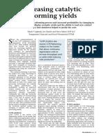 Increasing Catalytic Reforming Yields PTQ 2008