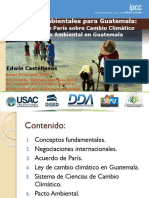 Cambio Climatico UVG USAC 25 Feb 16