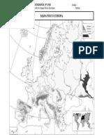 Mapa Mudo Fisico Europa Examen