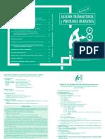 Revista de Analisis Transaccional y Psicologia Humanista -2009