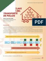 Aspectos Claves en El Transporte de Pollos-Selecciones Avicolas