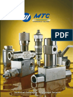 MTC Hydraulic Valves Catalog 2012