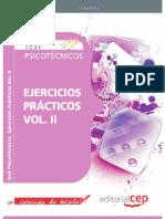Test Psicotécnicos. Ejercicios Prácticos Vol. II