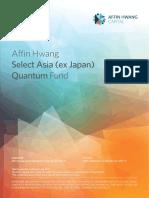 Prospectus Affin Hwang Select Asia (Ex Japan) Quantum Fund