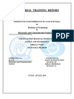 PDF Training Report Prasar Bharati New Delhi
