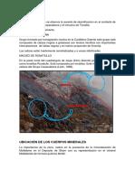 En La Zona de Estudio Se Observa La Aureola de Skarnificacion en El Contacto de Las Rocas de Calizas Copacabana y El Intrusivo de Tonalita (1)
