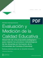 Articulo Revista Internacional de Evaluación en El Aprendizaje
