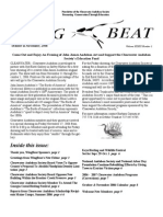October-November 2006 WingBat Newsletter Clearwater Audubon Society