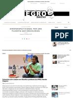 Afroperspectividade_ Por Uma Filosofia Que Descoloniza - Negro Belchior
