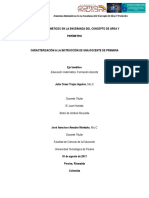 Dominios matemáticos en la enseñanza del concepto de Área y Perímetro - Universidad Tecnológica de Pereira