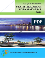 Statistik Daerah Kota Makassar 2016