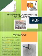 Materiales Componentes Del Concreto( 1 Exposicion)