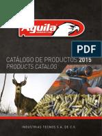 Catálogo Aguila Mexico