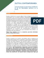 21 Del Peronismo Nacional Popular Al Peronismo Neoliberal Hernan Fair