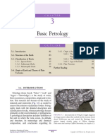 Chapter 3 Basic Petrology 2014 Introduction to Mineralogy and Petrology