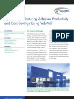 VoluMill Optima Case Study | Cost Savings Using Volumill