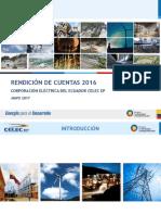 Informe Rendicion de Cuentas 2016
