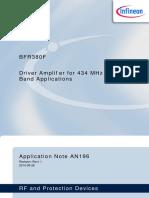 AN196 Rf Amplifier
