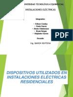 Dispositivos Utilizados en Instalaciones Electricas Residenciales