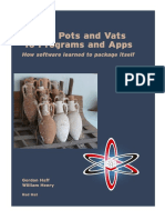 From Pots and Vats to Programs and Apps