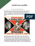 Ruski Konstruktivizam i Grafički Dizajn