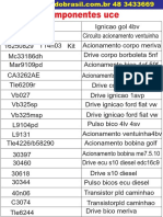 Lista Componentes Uce