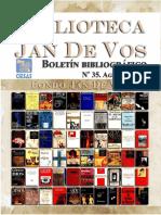 Boletín-Biblioteca Jan de Vos-Agosto 2017