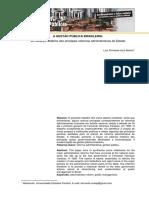 A Gestao Publica Brasileira