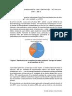 Inventario de Emisiones de Contaminantes Criterio de Costa Rica