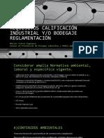 Ppt Requisitos Calificación Industrial