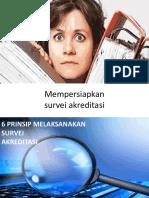 Persiapan Survei Akreditasi