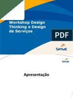 Design Thinking e Design de Serviços