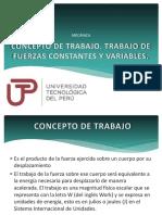 Diapositiva - Conceptos de Trabajo