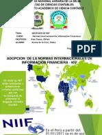 Adopción de Las NIIF (2)