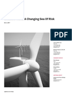 Offshore Wind a Changing Sea of Risk