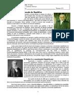 A Proclamação Da República - Texto 2017
