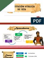 Constitución Vitalicia de 1826
