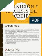 """Definición y Análisis De """"CRTIB"""""""
