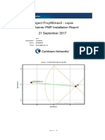 Reporte de radioenlace Punto a multipunto (PMP)
