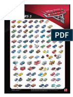Cars3 poster personajes