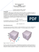 Práctica de laboratorio sobre medición e incertidumbres
