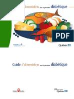 Guide Alimentation Pour La Personne Diabetique