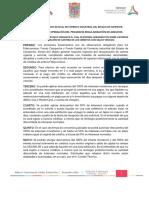 Lineamientos de Regularizacion de Adeudos FEFICAM Y FOCAMP 2017