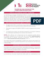 Guía núm. 1. Constitución de una sociedad por acciones simplificadas (SAS).pdf
