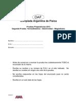 2da Prueba Preparatoria 2013