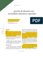 Integracion Alumnos NEE
